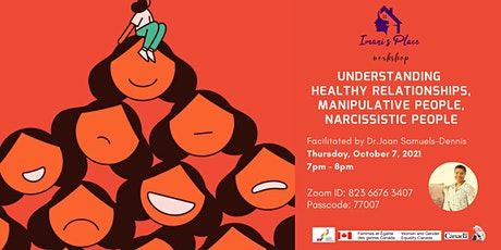 Understanding Healthy relationships, manipulative & narcissistic people tickets