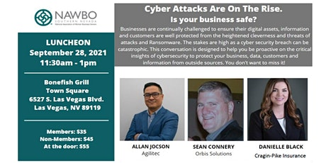 NAWBO Southern Nevada Presents - Cyber Attacks Are on The Rise tickets