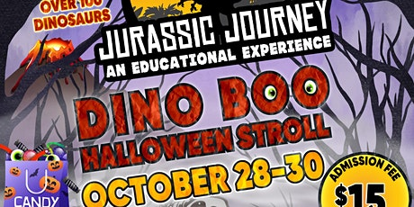 JURASSIC JOURNEY DINO BOO HALLOWEEEN STROLL tickets