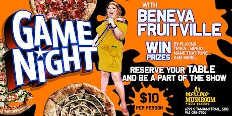Mellow Mushroom Sarasota Presents: Beneva Fruitville's Game Night tickets
