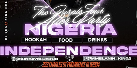 NIGERIAN INDEPENDENCE DAY PURPLE TOUR AFTER PARTY tickets