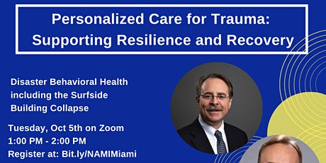 Personalized Care for Trauma:  Supporting Resilience and Recovery tickets