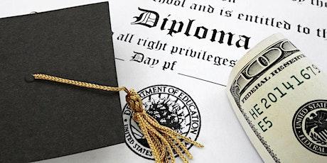Webinar: How to Afford Your Dream School tickets