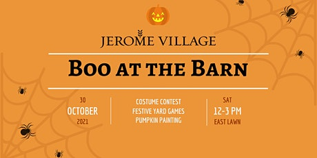 Boo at the Barn - Pumpkin Painting tickets