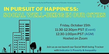 In Pursuit of Happiness: Social Well-Being in Our Cities tickets