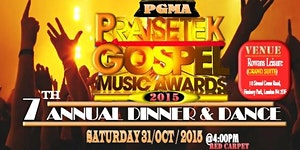 PRAISETEK GOSPEL MUSIC AWARDS 2015 (PGMA)