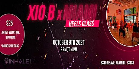 Xio B x Miami - Heels Class tickets
