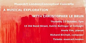 MusicArt London Launch Concert -  A Musical...
