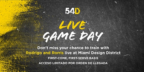 54D's Live Game Day tickets
