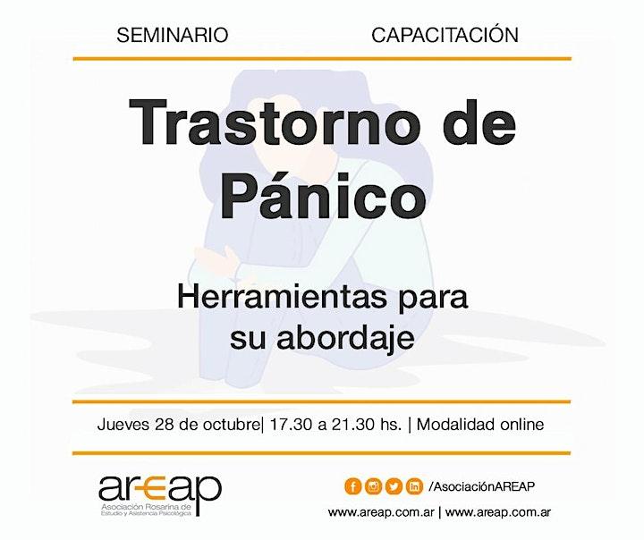 Imagen de Seminario TRASTORNO DE PÁNICO (Octubre 2021)