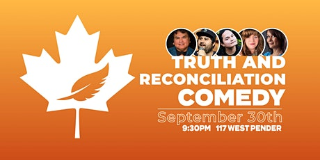 Truth & Reconciliation Comedy | Live Stand Up Comedy tickets