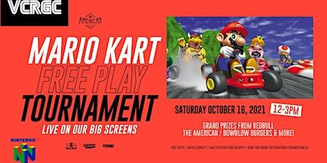 Mario Kart 64 Freeplay Tournament tickets