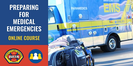 IN-PERSON Course: Preparing for Medical Emergencies - Campbell - 2022 tickets
