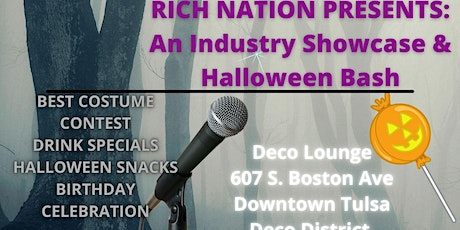 RICH NATION RECORDS PRESENTS: AN INDUSTRY SHOWCASE & HALLOWEEN BASH tickets