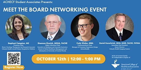 October Lunch N Learn - Meet the Board Networking Event tickets
