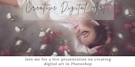 Creative Digital Art - AM Session tickets