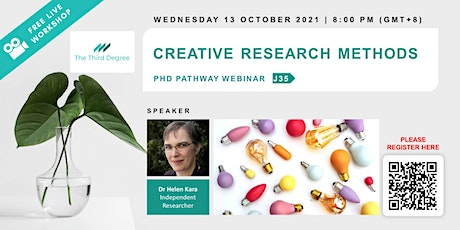 Creative Research Methods tickets