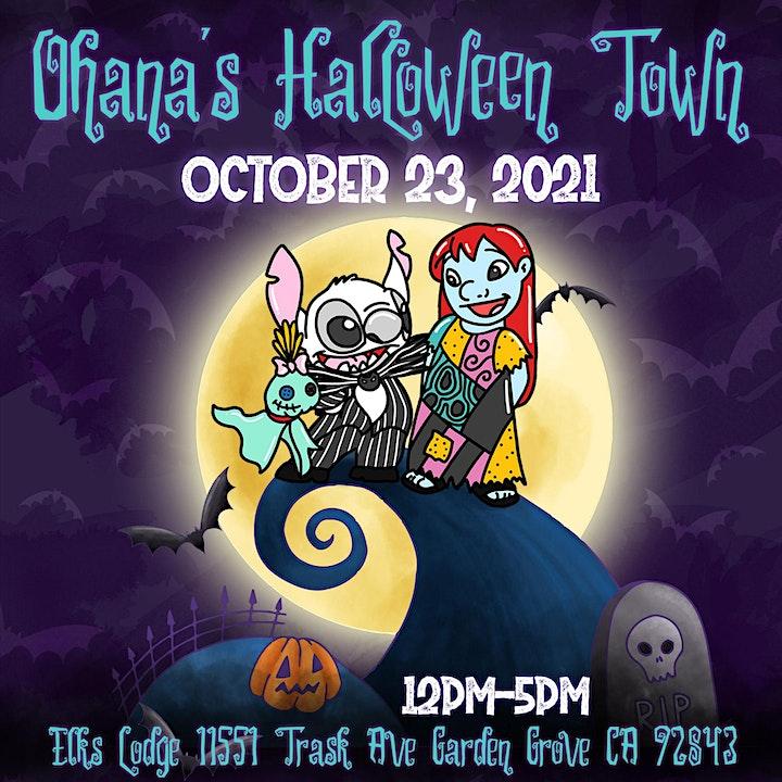 Ohana's Halloween Town Event image