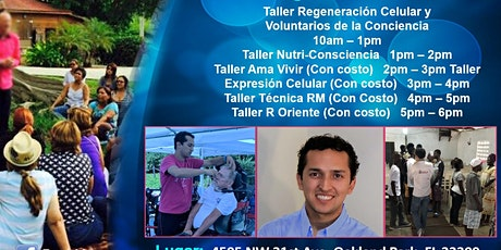 Octubre 17 Miami Talleres Tecnicas Medicina Emocional ReneMey entradas