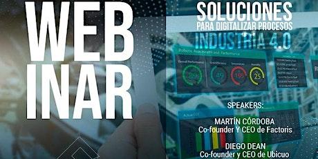 Soluciones para digitalizar procesos entradas