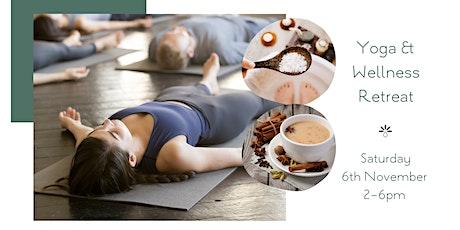 Yoga & Wellness Retreat at Biota tickets