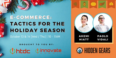 E-Commerce: Tactics for the Holiday Season tickets