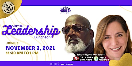 2021 PACT Leadership Luncheon | Virtual Experience, Nov.3rd tickets