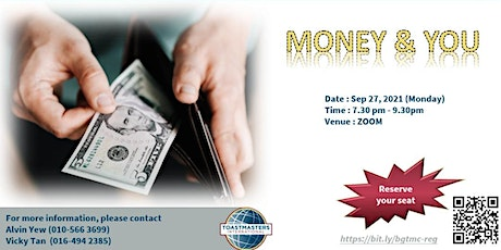 Money & You - Toastmasters Meeting tickets