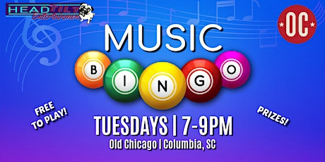 Music Bingo at Old Chicago Pizza & Taproom (Columbia, SC) tickets