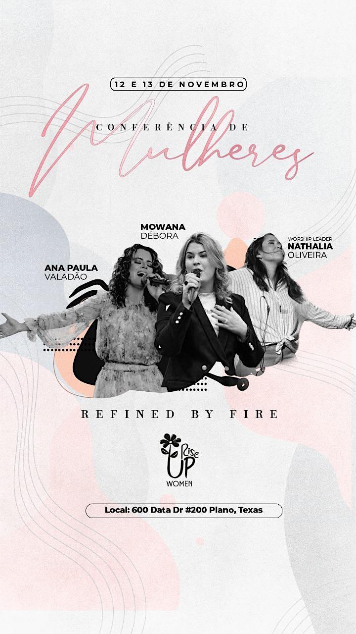 Imagem do evento Conferência de Mulheres - Refined by Fire