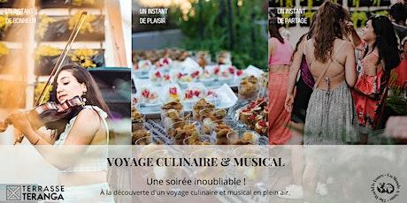 Terrasse Teranga - Voyage culinaire et musical-Cocktail dînatoire tickets