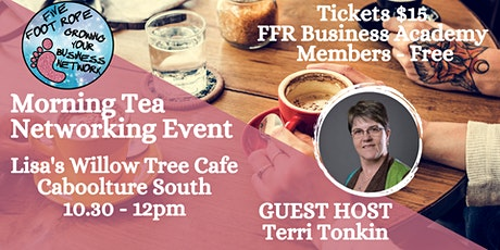 Five Foot Rope Morning Tea Networking Event - October tickets
