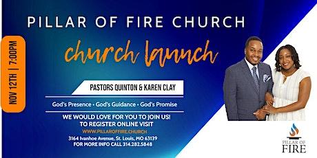 Pillar of Fire Church: Ministry Launch tickets