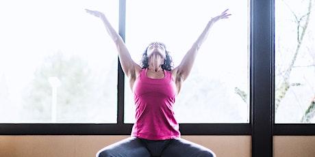Chair Yoga with Jamison Goodnight, AA, BFA, 200hr-RYT,ADA Senior Instructor Tickets