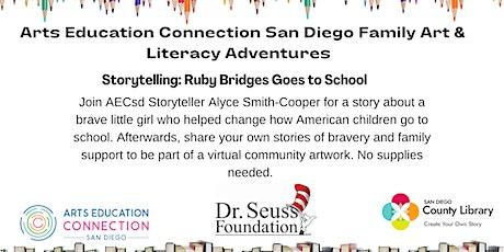 AECsd  Family Art & Literacy Adventures Storytelling Vista Library tickets