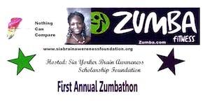 Sia Yorker Brain Awareness Foundation 1st Zumbathon...