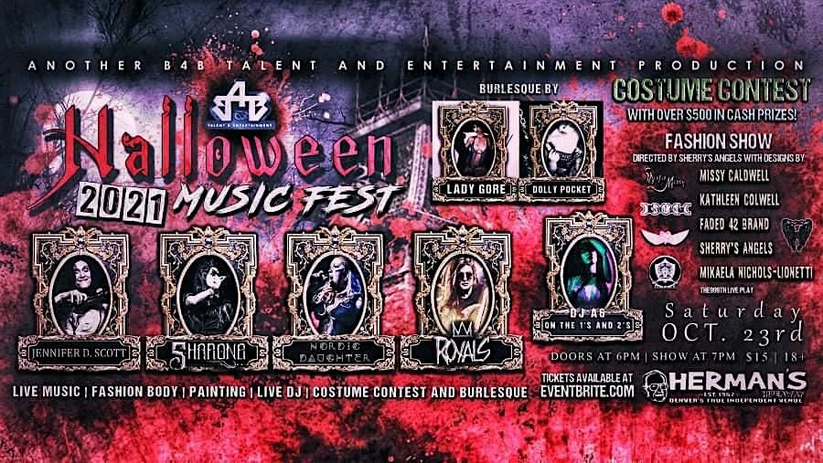 HALLOWEEN FEST  (Live Music, Costume Contest, Fashion, Burlesque, Dj & More