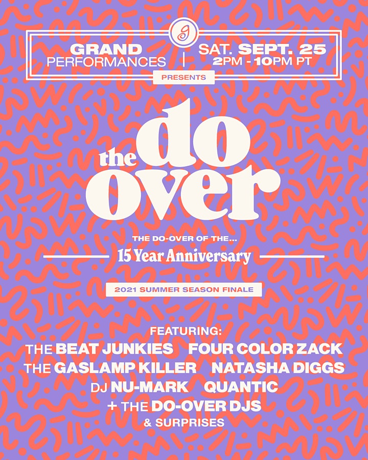 The Do-Over at Grand Performances image