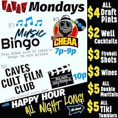 Happy Hour Music Bingo tickets