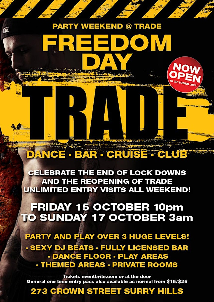 FREEDOM DAY PARTY WEEKEND AT TRADE image
