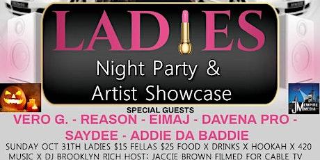 JM Empire Media Ent Ladies Night Party & Halloween Showcase 10.31.21 tickets
