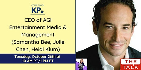 Meet Kenneth Slotnick, CEO of AGI Entertainment & Media Management tickets