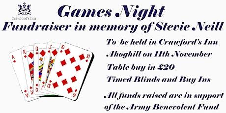 Stevie Neill Memorial Fundraiser tickets