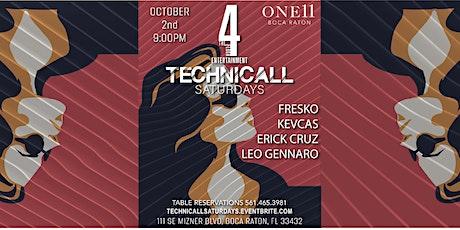 TECHNICALL SATURDAYS tickets