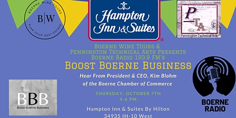 October Boost Boerne Business Networking Event tickets