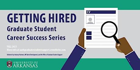 Graduate Student Career Development Series: Academic Careers tickets