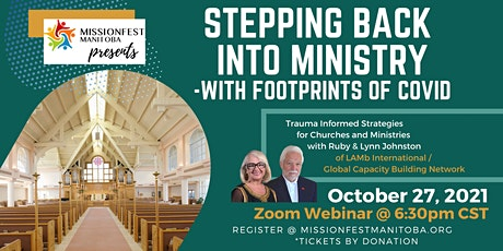 Stepping Back Into Ministry - With Footprints of Covid tickets