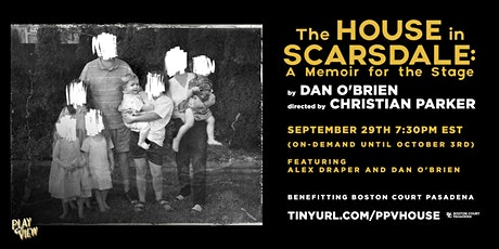 """Play-PerView: """"The House In Scarsdale: A Memoir For The Stage"""" (Live-Read) tickets"""