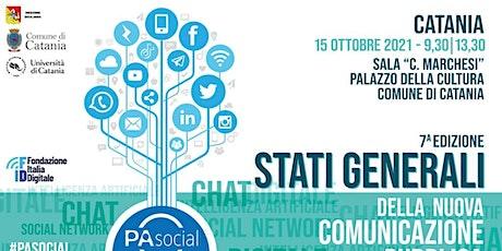Stati Generali nuova comunicazione pubblica - settima edizione biglietti