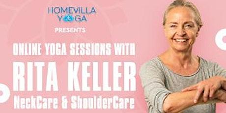 Online Yoga Class with Rita Keller tickets